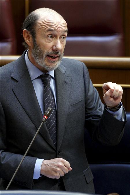 Rubalcaba convencido de que el PP no gobernará por servirse de la crisis