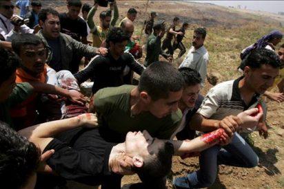 Un palestino muere por disparos de soldados israelíes en Gaza