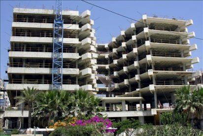 Los visados para construir viviendas nuevas caen un 30 por ciento hasta febrero