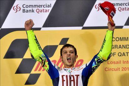 Rossi, Stoner y Lorenzo con ambición de victoria en Jerez