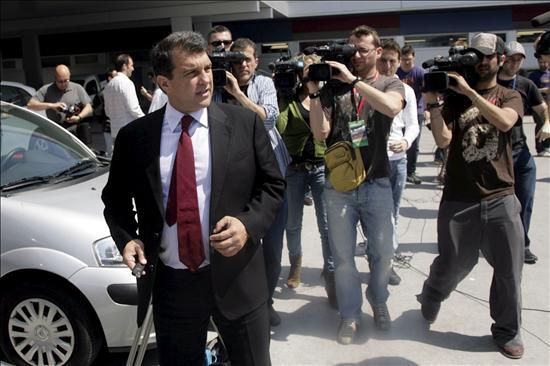 """Laporta asegura que """"el Barça no puede caer en provocaciones ni en excusas"""""""
