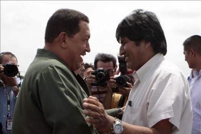 Chávez y Morales, un nuevo encuentro para estrechar la cooperación bilateral