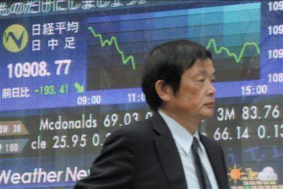 El índice Nikkei sube 155,62 puntos el 1,42 por ciento hasta 11.080,41 puntos