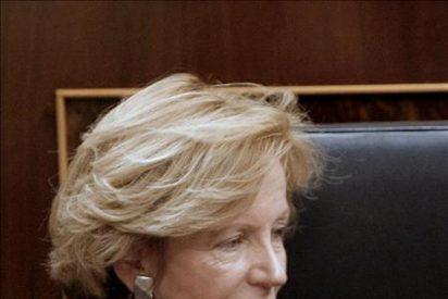 Salgado dice que el recorte de altos cargos afectará a todos los ministerios