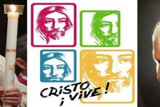 "Lucernario presidido por el Papa: ""Alégrate Cristo vive"""