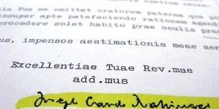 Texto completo de la carta firmada por Ratzinger