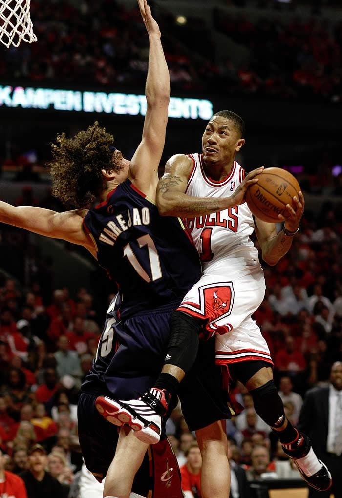 Los Bulls dieron el primer aviso a James y los Cavaliers