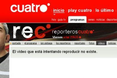 Cuatro retira de su página web el reportaje-tongo 'Baby Sicarios'