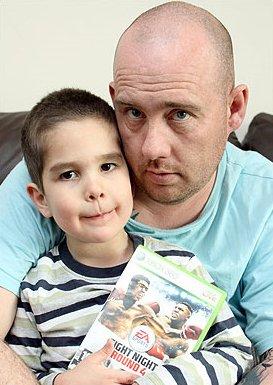 Un niño de cuatro años encuentra una bolsa de droga en un juego de la XBox