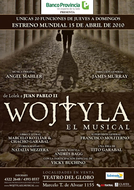 La juventud de Wojtyla en un musical argentino