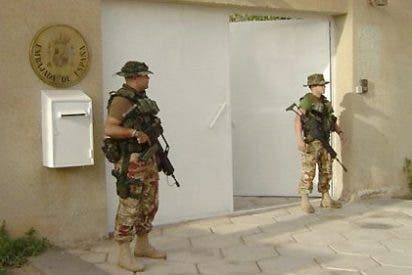 Mueren en un atentado-bomba dos vigilantes iraquíes junto a la Embajada de España en Bagdad