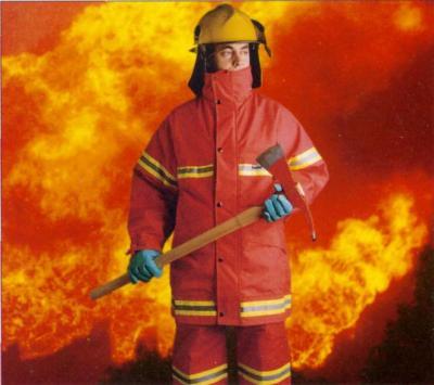 Gracias a los bomberos