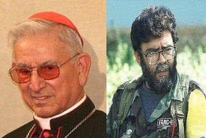 Castrillón recibe en Roma a jefes de las FARC