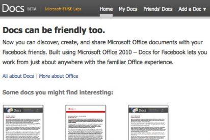 Facebook y Microsoft se unen para luchar contra Google Docs con un nuevo servicio de ofimática