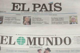 El País evita in extremis ser embargado mientras El Mundo es incapaz de pagar los intereses de su deuda