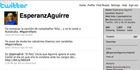 """Humor terapeútico o cuando Esperanza Aguirre dijo: """"Si Google no encuentra algo, me pregunta a mí"""""""