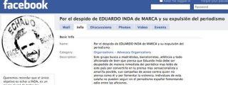 """Veinte mil lectores de Marca se unen en Facebook con un objetivo: """"Por el despido de Eduardo Inda y su expulsión del periodismo"""""""