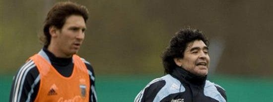 """Maradona: """"Messi puede terminar con la polémica 'Maradona-Pelé'"""""""