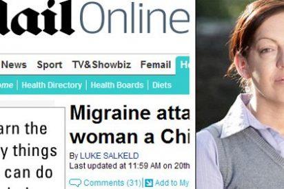 Sufre un ataque de migraña que le deja acento chino