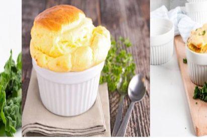 Recetas de sufflés de queso fáciles
