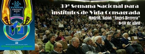 Arranca la 39ª Semana Nacional de Vida Religiosa con una cerrada ovación al Papa