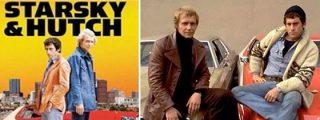 Quién podría resistirse a hacer de 'Starsky y Hutch' si tu coche viene con sirena y radio de policía auténticas