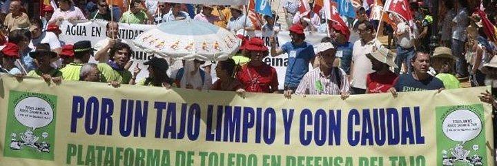 Los defensores del Tajo se retratarán en el plan de cuenca, no en el Estatuto