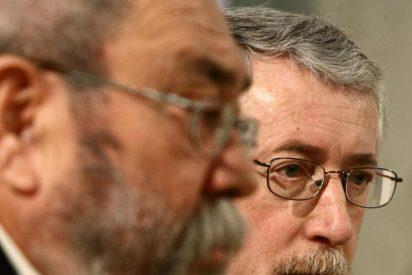 Toxo y Méndez, molestos con el Gobierno por la 'filtración' del dato de paro