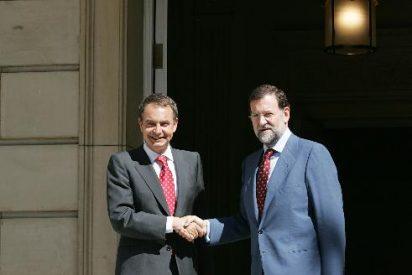Zapatero y Rajoy se reúnen hoy en La Moncloa