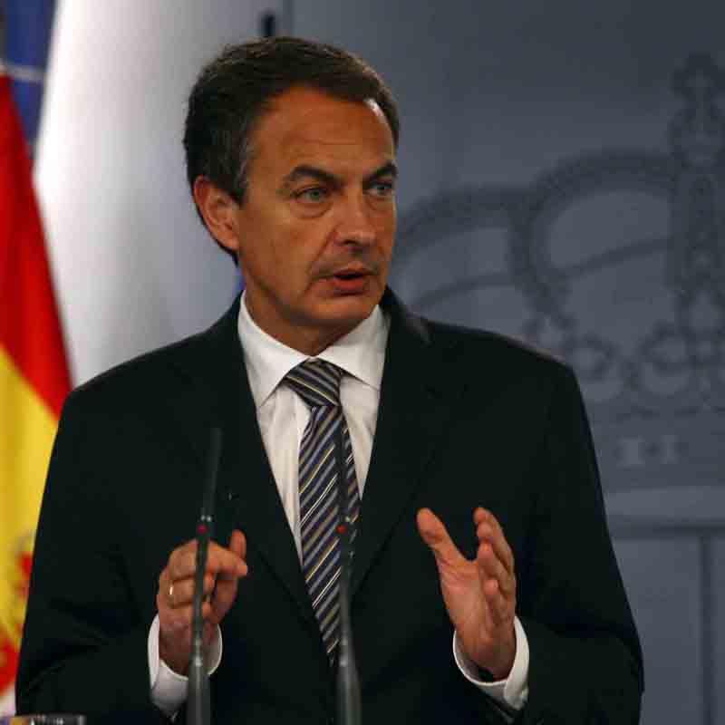 Zapatero confía en que bolsas lo reciban bien