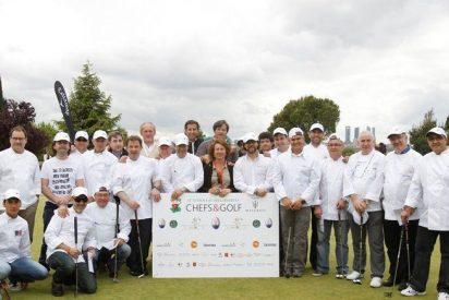 El equipo de Sergi Arola, ganador del torneo solidario de golf a favor de los niños de El Congo