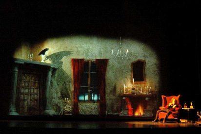 Teatro Corsario interpreta hoy en Espacio Vías de León 'El Cuervo', de Edgar Allan Poe