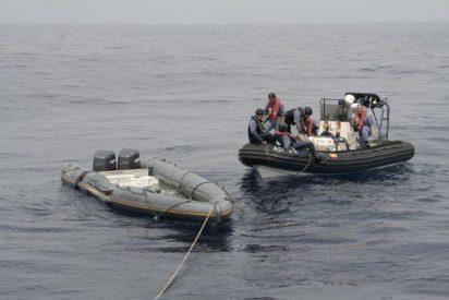 Aprehenden más de 1.200 kilos de hachís en dos embarcaciones a 60 millas al sur de Cartagena