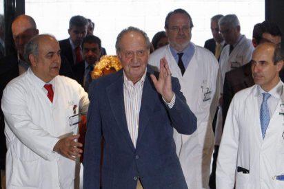 El Rey podría ser dado de alta hoy del Hospital Planas de Barcelona
