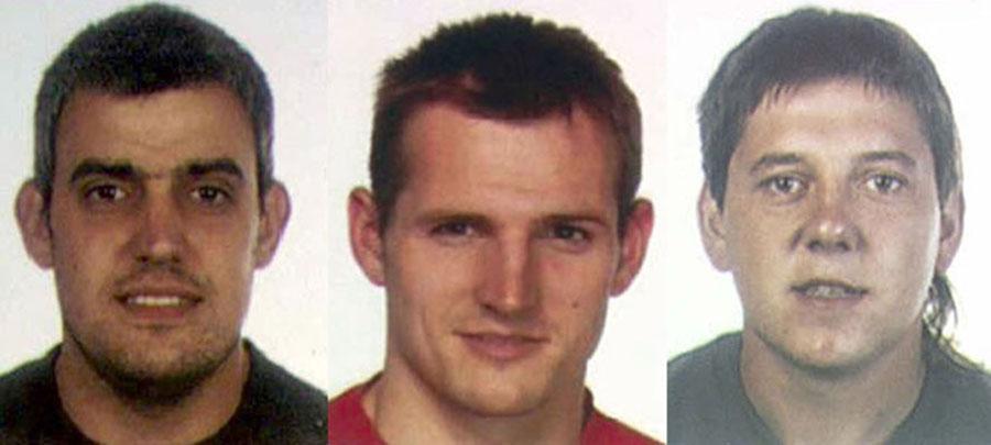 Los tres presuntos etarras de la T4 vuelven hoy a la Audiencia Nacional