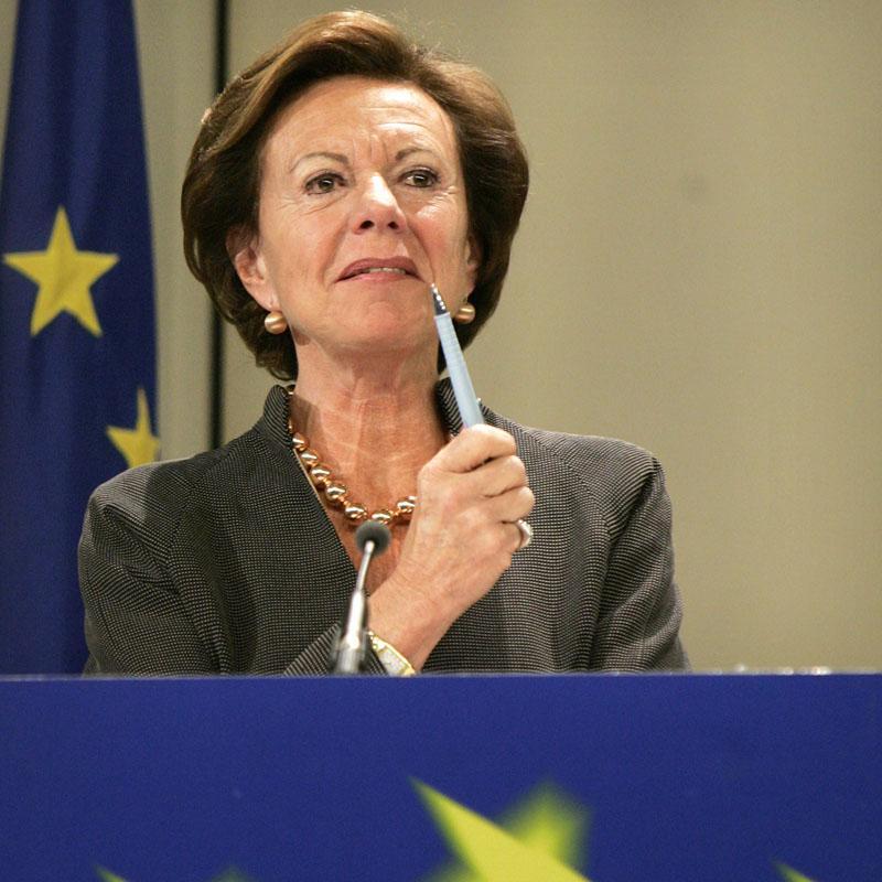 La comisaria Kroes niega que vaya a volver a la política en Países Bajos