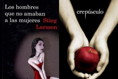 Stieg Larsson y Stephenie Meyer son los más leídos
