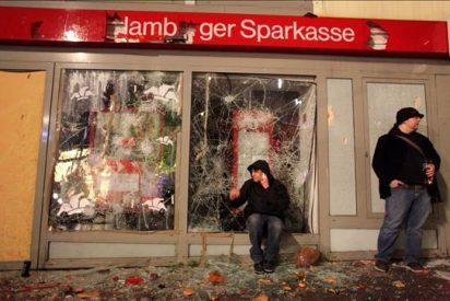 Disturbios en Berlín y Hamburgo tras marchas de izquierda radical