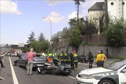Descienden un 23 por ciento los muertos en la carretera hasta final de abril
