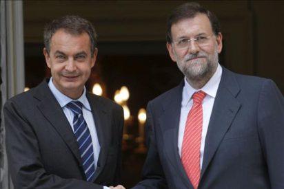 Zapatero y Rajoy se reunirán el próximo miércoles en el Palacio de la Moncloa