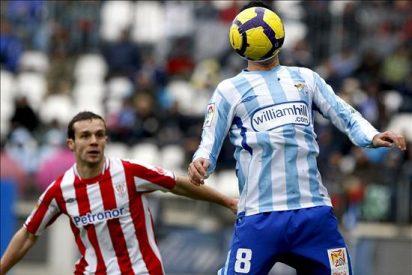 El Málaga CF ha puntuado en cuatro de sus ocho visitas a San Mamés