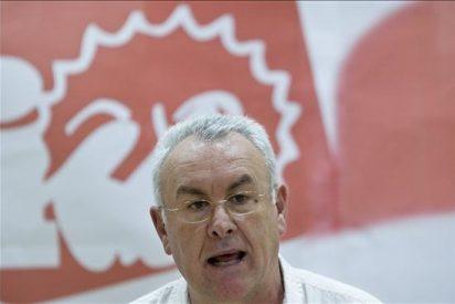 """Cayo Lara dice antes de declarar como imputado que """"es el mundo al revés"""""""