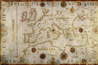 """Los mapas como """"propaganda y arte"""", una exposición de la Biblioteca Británica"""
