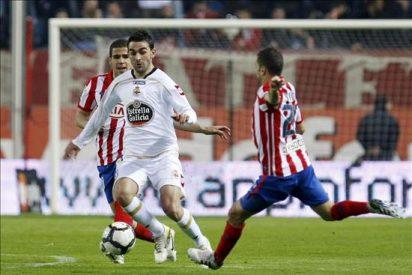 Adrián, baja de última hora en el Deportivo por un esguince de tobillo