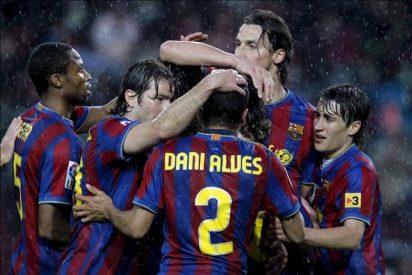 4-1. El Barça se libra de una pesadilla y se sitúa a dos partidos del título