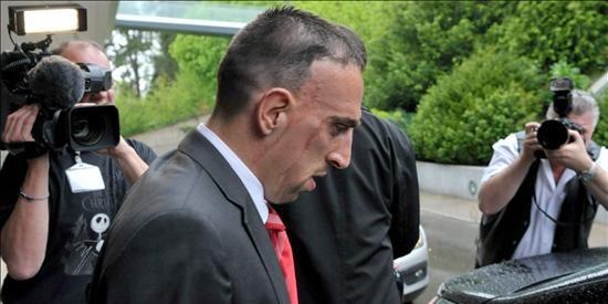 La UEFA rechaza el recurso contra la suspensión de Ribéry y no jugará la final