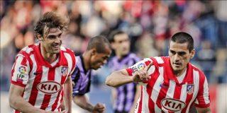3-1. El Atlético frena el 'efecto' Clemente y acerca a Segunda al Valladolid