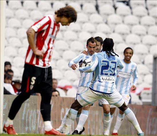 1-1. El Athletic dilapida otra oportunidad y el Málaga respira