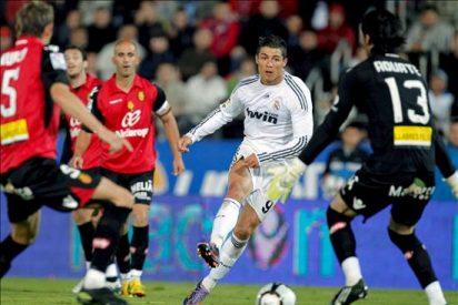 1-4. Ronaldo conquista Son Moix y el Madrid mantiene el pulso con el Barça