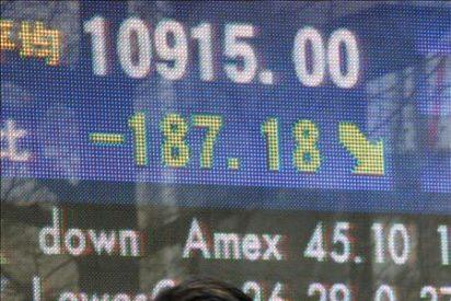 El Nikkei cae el 3,27 por ciento hasta los 10.695,69 puntos